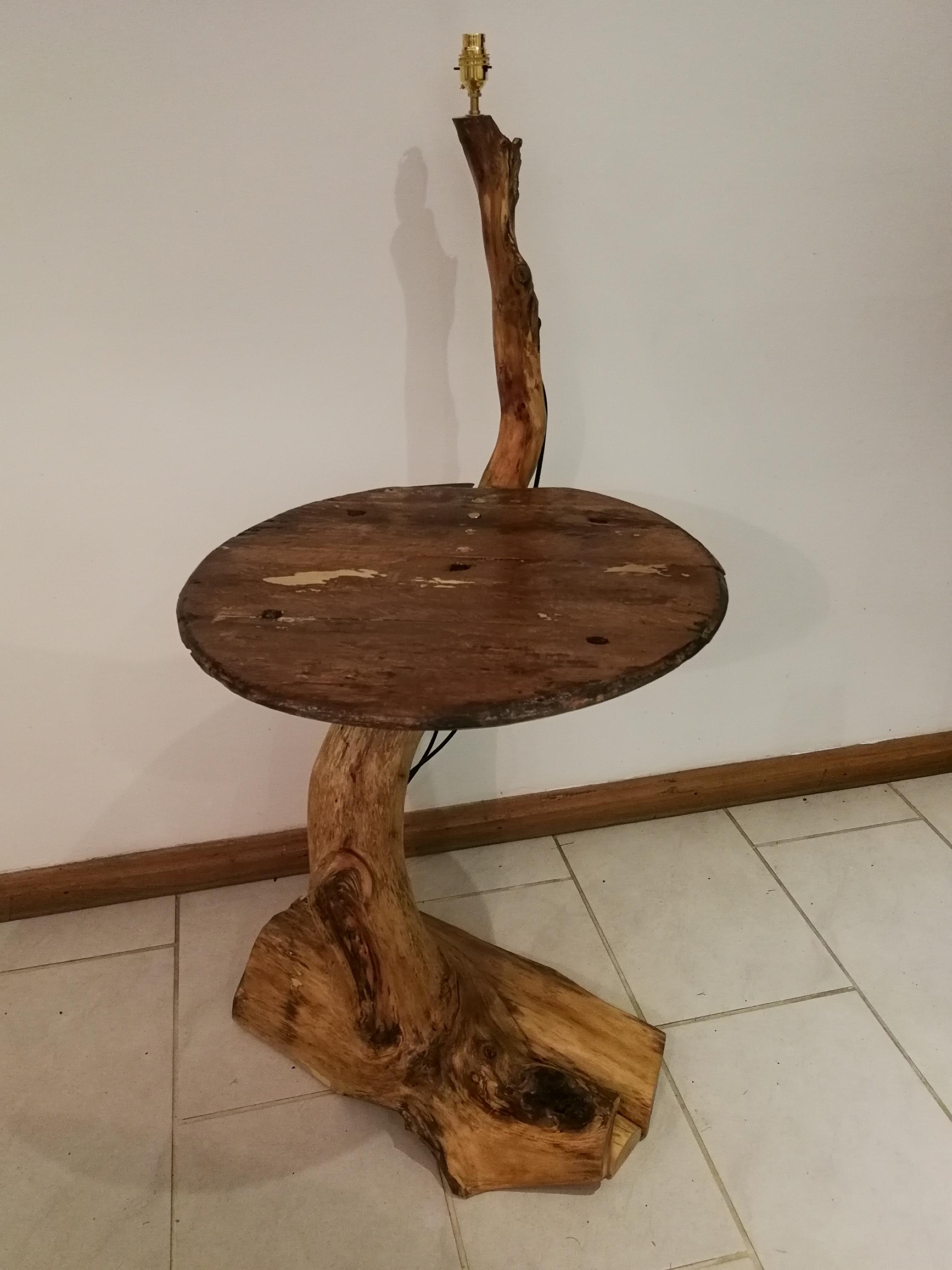 Tree Branch Floor Standing Lamp